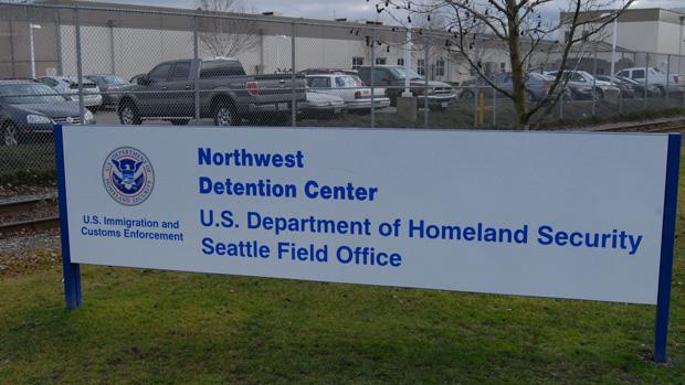Centro de detención ICE en el Noroeste de Washington