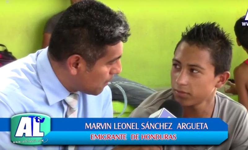 """Testimonios de migrantes del albergue """"Hermanos en el camino"""" que es dirigido por el padre Alejandro Solalinde Guerra"""