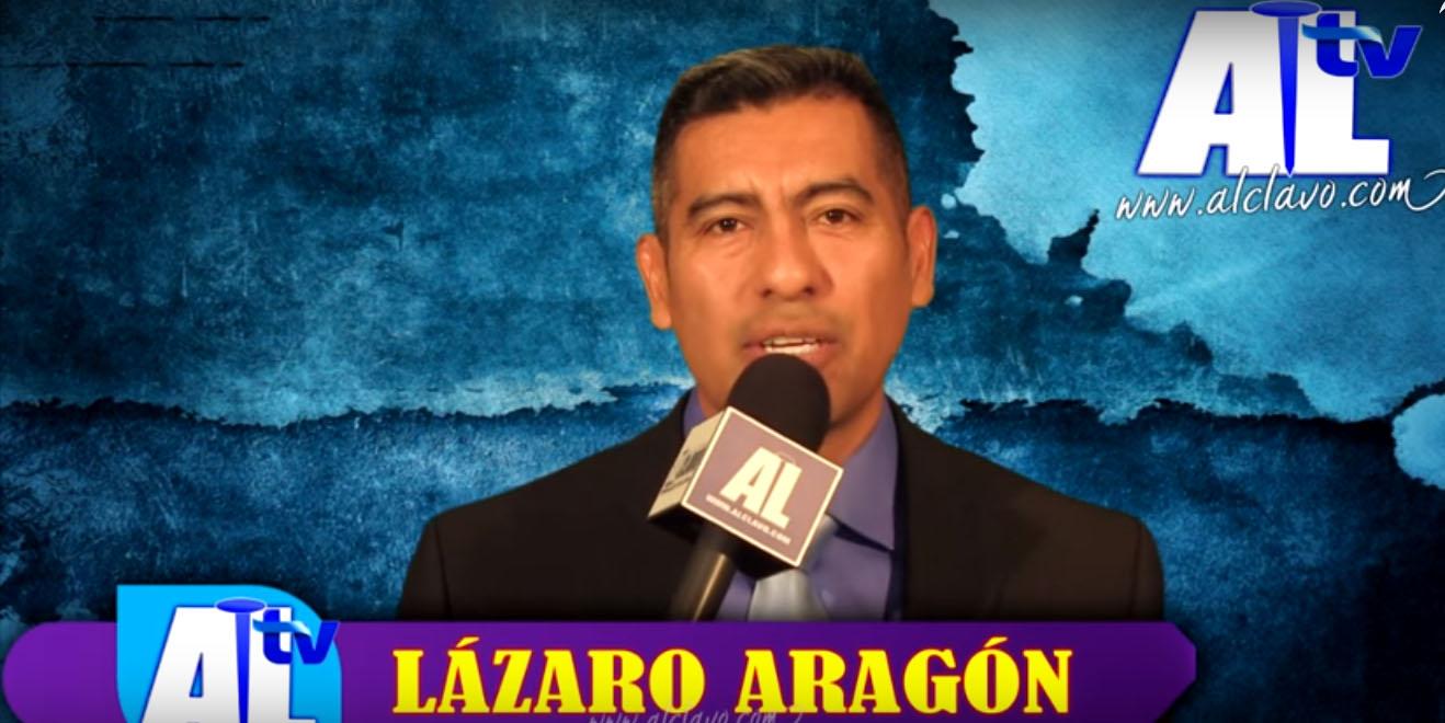 Reportero Lazaro Aragon