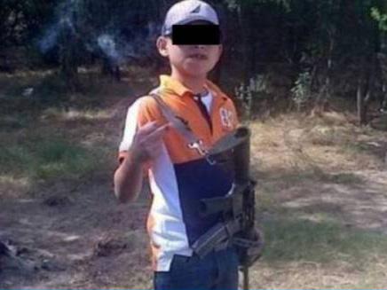 Damián fue regalado por su Mamá y se convirtió en integrante del Cártel de los Zetas